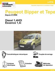 Revue Technique Peugeot Bipper et Tepee