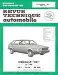 Revue Technique Renault 20 L, TL et GTL