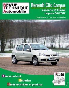 Revue Technique Renault Clio Campus