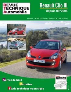 Revue Technique Renault Clio III