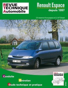 fiche technique renault grand espace iii 1998 2001 auto titre. Black Bedroom Furniture Sets. Home Design Ideas
