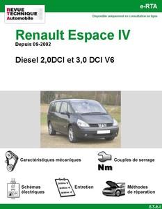 Revue Technique Renault Espace IV 2,0DCI et 3,0DCI V6