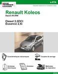 Revue Technique Renault Koleos