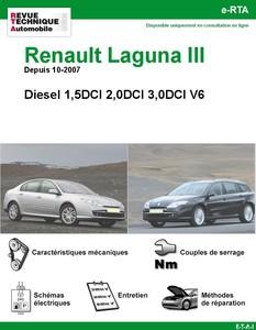 Revue Technique Renault Laguna III Diesel