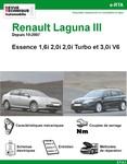 Revue Technique Renault Laguna III Essence