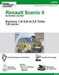 Revue Technique Renault Scénic II Essence (saud 1,6i)