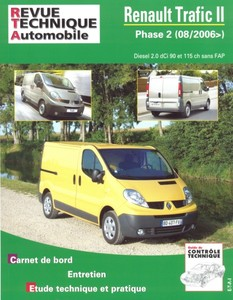 Revue Technique Renault Trafic II phase 2