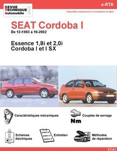 Revue Technique Seat Cordoba I essence