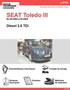 Revue Technique Seat Toledo III diesel