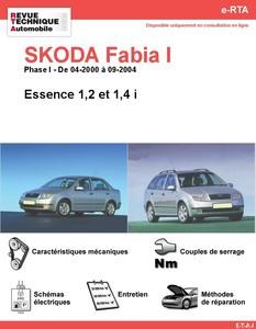 Revue Technique Skoda Fabia I essence