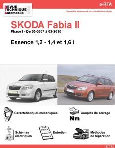 Revue Technique Skoda Fabia II essence