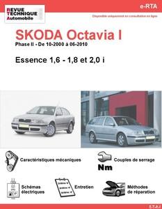 Revue Technique Skoda Octavia I essence