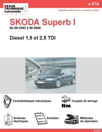 Revue Technique Skoda Superb I diesel