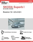 Revue Technique Skoda Superb I essence