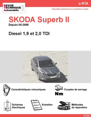 Revue Technique Skoda Superb II diesel