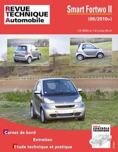 Fiche technique smart fortwo 2002
