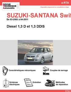Revue Technique Suzuki Swift II