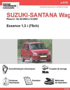 Revue Technique Suzuki Wagon R essence