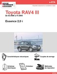 Revue Technique Toyota RAV4 III essence