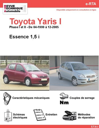 Revue Technique Toyota Yaris I