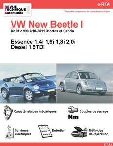 Revue Technique Volkswagen New Beetle