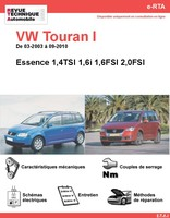 Revue Technique Volkswagen Touran I essence