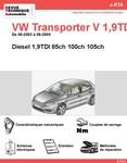 Revue Technique Volkswagen Transporter V diesel