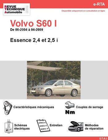 Revue Technique Volvo S60 I essence