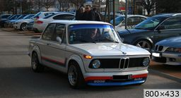 BMW E20 2002 Turbo