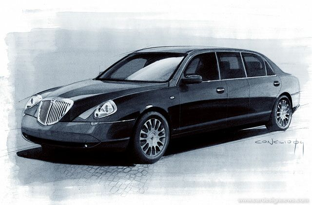 lancia thesis limousine a geneve auto titre. Black Bedroom Furniture Sets. Home Design Ideas