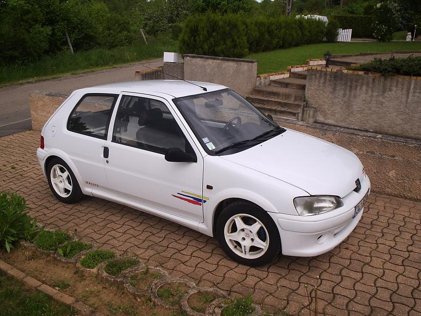fiche technique peugeot 106 ii quicksilver sport. Black Bedroom Furniture Sets. Home Design Ideas
