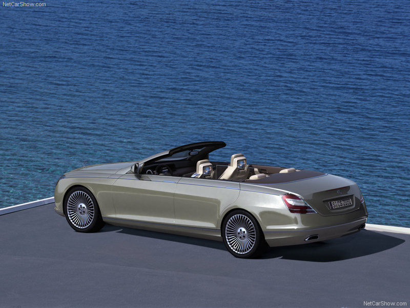 mercedes cabriolet 4 portes concept ocean drive auto. Black Bedroom Furniture Sets. Home Design Ideas