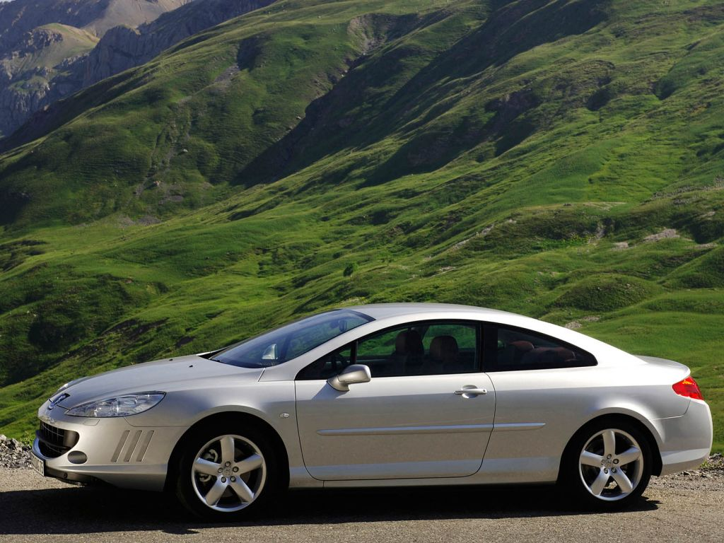 peugeot 407 coupe vs mercedes clk vs bmw 330 cd - auto titre