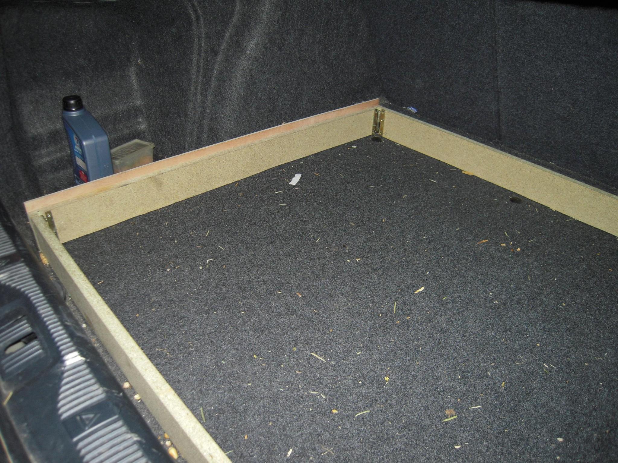 un lit pour bien dormir dans mon octavia ii auto titre. Black Bedroom Furniture Sets. Home Design Ideas
