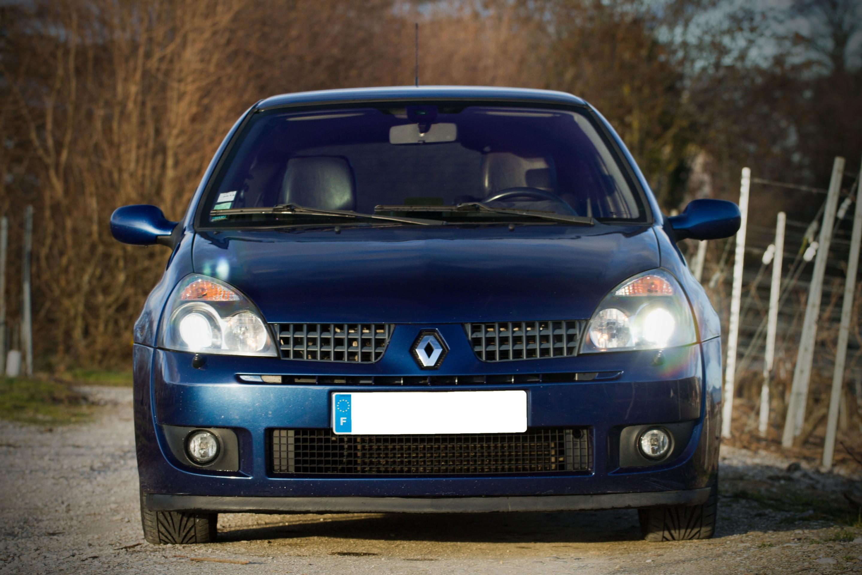 Marche Arriere La Renault Clio 2 Rs Phase 2 Auto Titre
