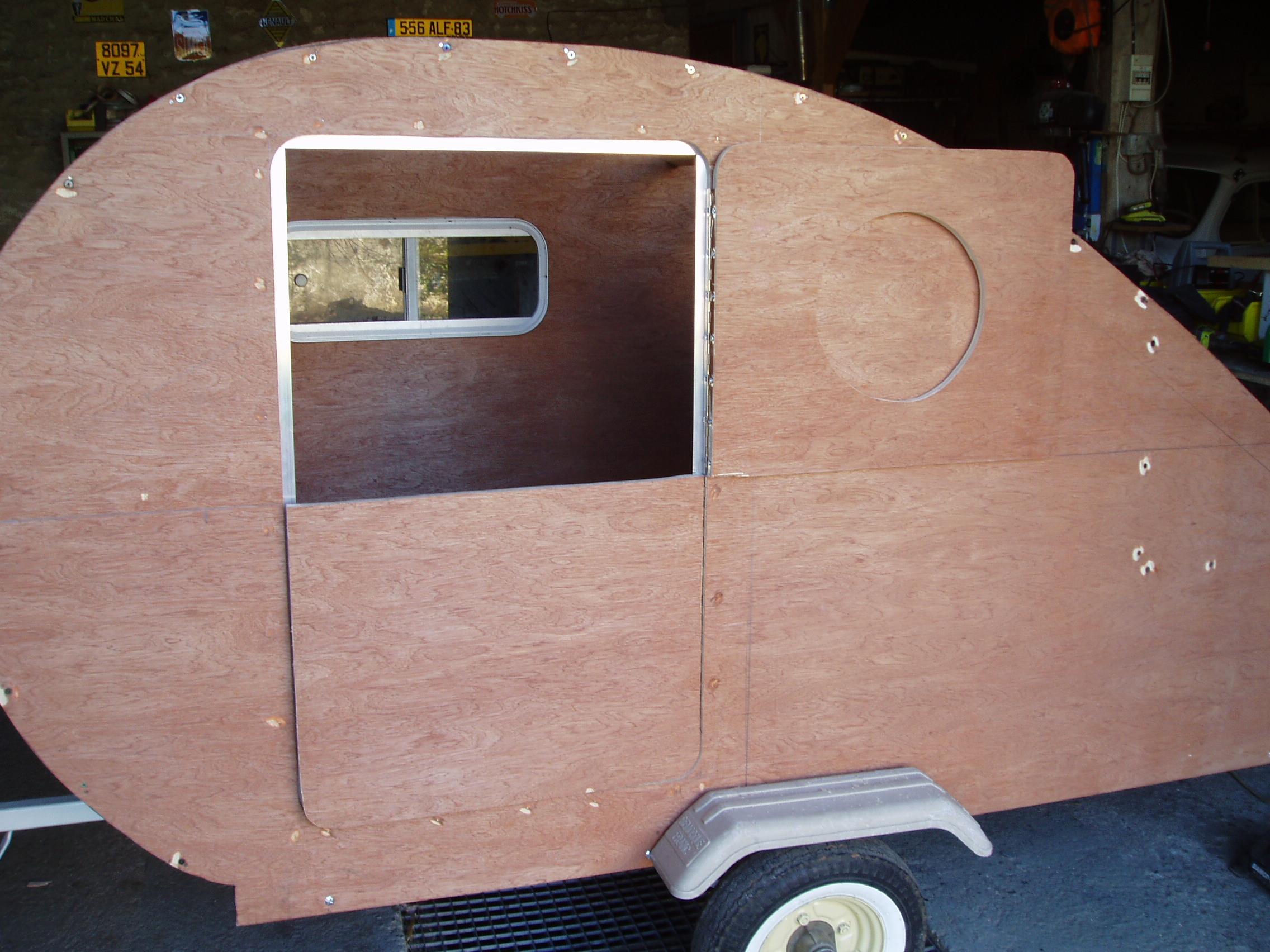 4cv et caravane ailette