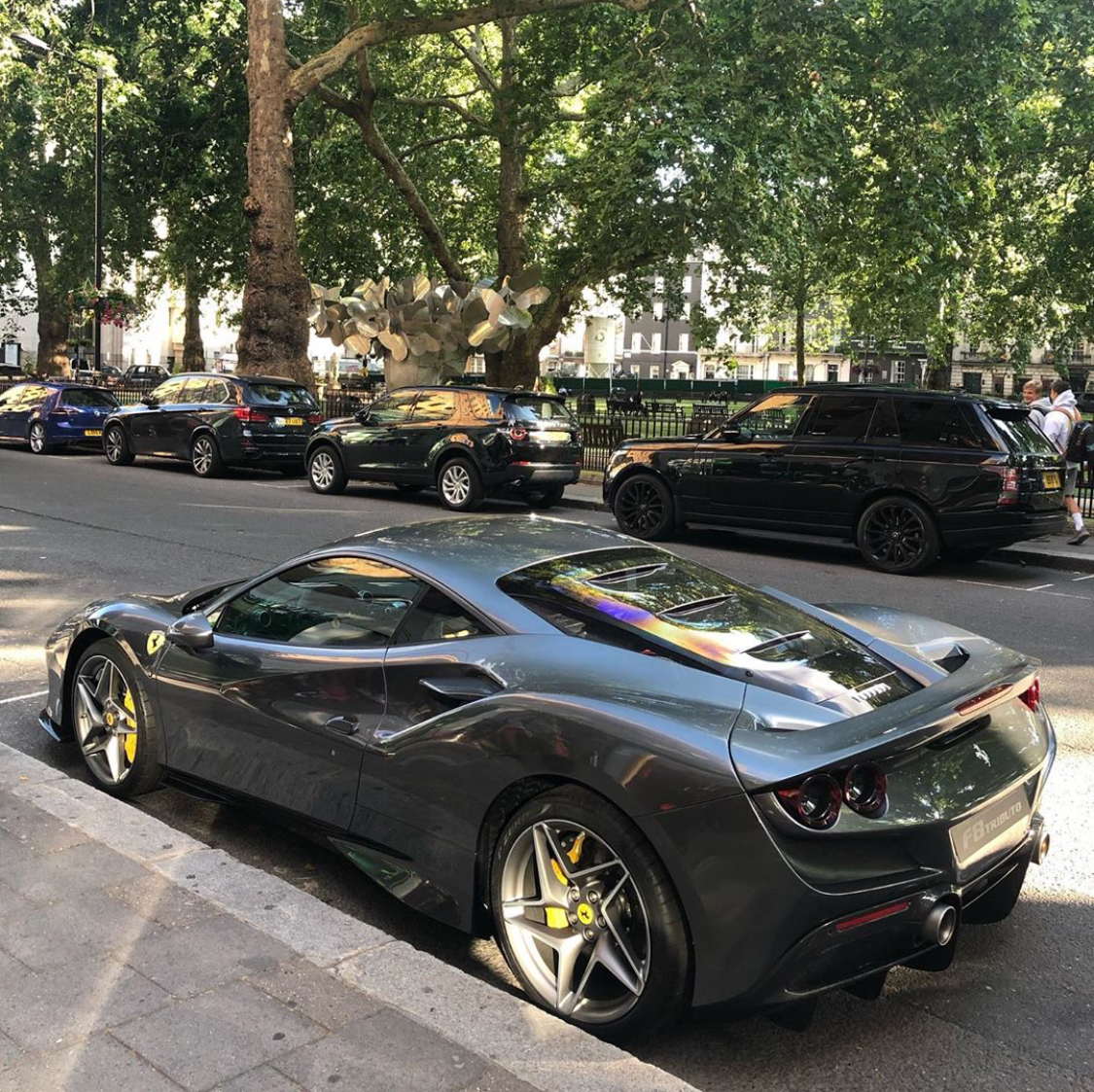 Ferrari Tributo V8: Ferrari F8 Tributo