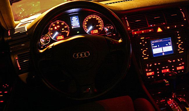 Audi A4 2005 Interior Night Best Photos And Description Imagedumporg