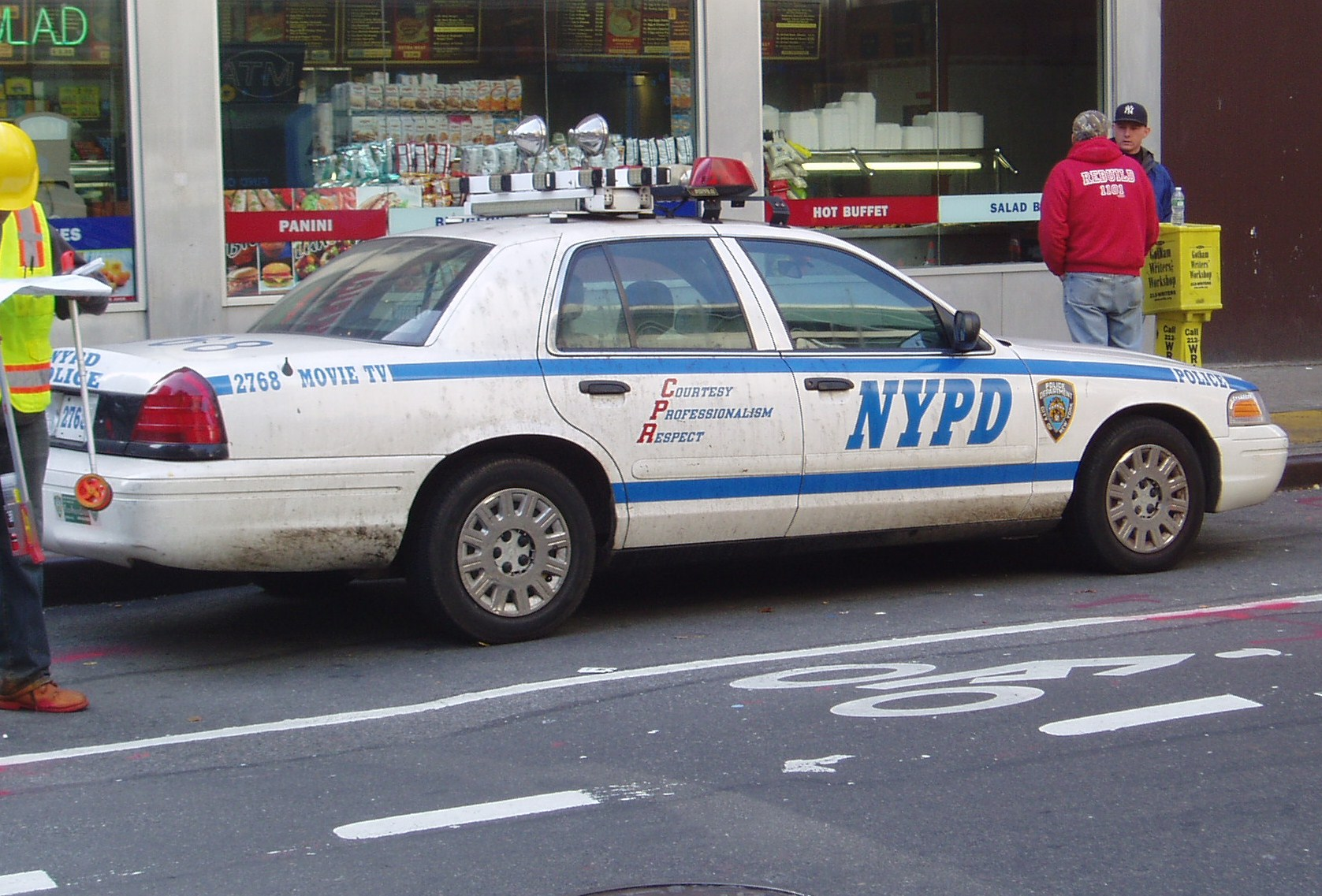 Datant d'un flic NYPD