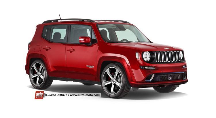 Futur Jeep Renegade SRT - Auto titre
