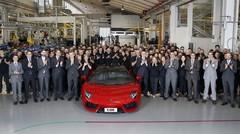 Lamborghini Aventador : et de 5000 !