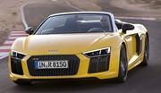 Audi R8 Spyder : 50% plus rigide !