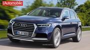 Futur Audi Q5 : Le futur Q5 filmé sur le Ring