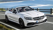 Mercedes-AMG C 63 Cabriolet : avec le V8 biturbo