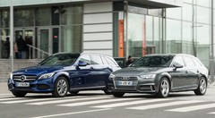 Essai Audi A4 Avant 2016 vs Mercedes Classe C break