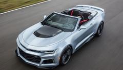 La Chevrolet Camaro ZL1 perd le toit