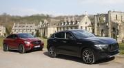 Essai Maserati Levante vs Mercedes GLE Coupé : 1er match des SUV sportifs
