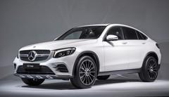Mercedes GLC Coupé : le rival du BMW X4