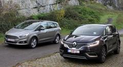Essai Ford S-Max vs Renault Espace : La guerre des étoiles
