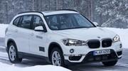 BMW X1 Hybride Plug-In : premières photos des prototypes